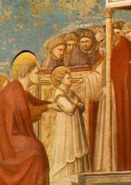 Marias liv (III). Jungfruns Frambärande