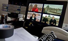 Fernsehübertragung der Seligsprechung