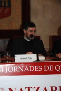 Dr. Armand Puig, degà de la facultat de Teologia de Catalunya.