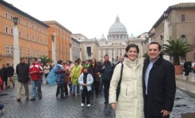 Se ženou v Římě