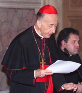Ruini樞機為歐華路主教舉行封聖評審
