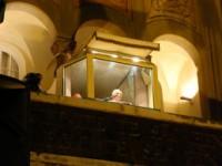 Bento XVI fala da sacada do Mosteiro de São Bento