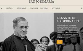 La web de san Josemaría se fusiona con www.opusdei.org