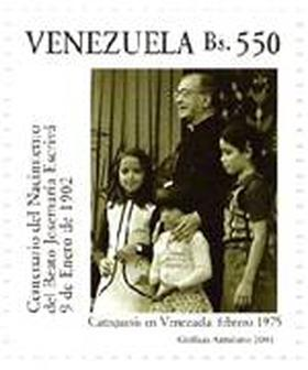 Postzegels met als onderwerp Jozefmaria