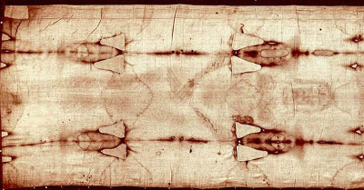 The Holy Shroud of Turin.