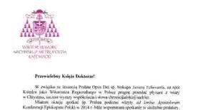 List abp. Wiktora Skworca