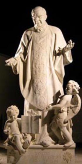 サンピエトロ大聖堂に聖ホセマリアのご像
