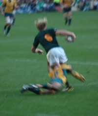 Partido Sudáfrica-Australia en Cape Town