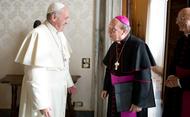 Ferenc pápa távirata