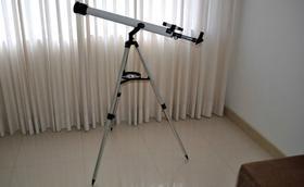 Las lentes de un telescopio