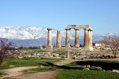 Autre vue du temple d'Apollon