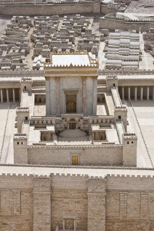 Maqueta del Temple d'Herodes que es troba a l'Israel Museum. FOTO: ALBERTO PERAL-ISRAEL TOURISM.