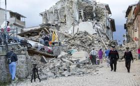 Il Prelato è vicino alla vittime del terremoto