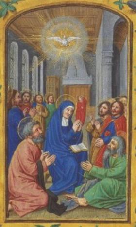 Cuộc đời Mẹ Maria (phần XVIII): THÁNH THẦN NGỰ ĐẾN