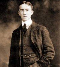 J.R.R. Tolkien jako student koleje Exeter