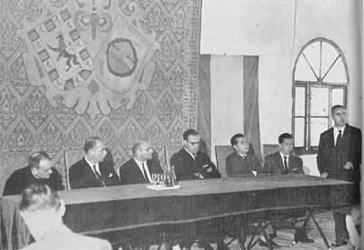 Fotografía de los comienzos de la Efa Torrealba.