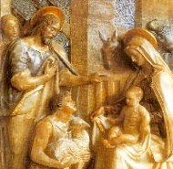 Relieve de la Sagrada Familia (Torreciudad)