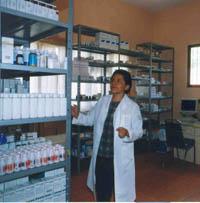 Desde 1997, el dispensario contó con instalaciones propias.