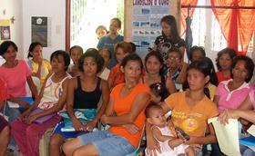 希望泉源不斷湧進貧窮的Laguna村莊