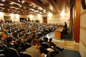 국제 대학생 세미나 UNIV: 3000 여명의 대학생들이 참가