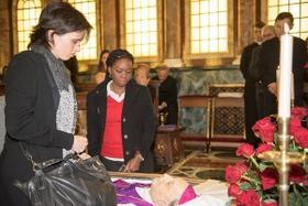 Velório e funeral de D. Javier Echevarría