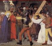 Jesus encontra a sua Mãe no caminho para o Calvário