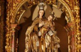 En la fiesta de la Virgen del Carmen