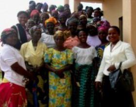 圣施礼华在非洲的赞比亚 (Zambia)和Ossomala