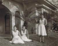 Zezinha, Maria Augusta e Ascensión na Administração do Sumaré (1967)