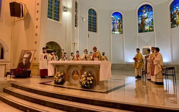 2020年在東亞地區慶祝恭敬聖施禮華的彌撒