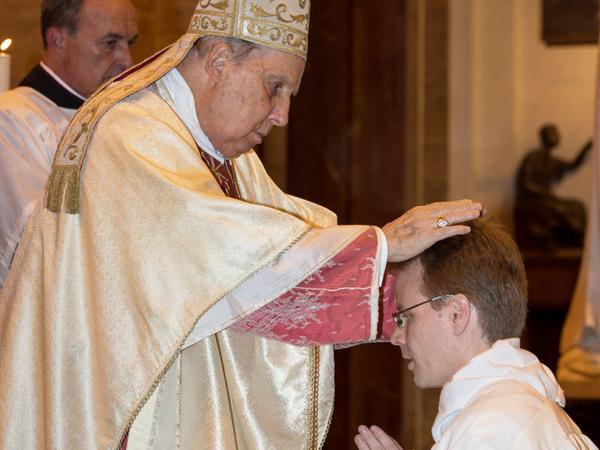 Fotos de las ordenaciones diaconales en Roma (octubre 2015)