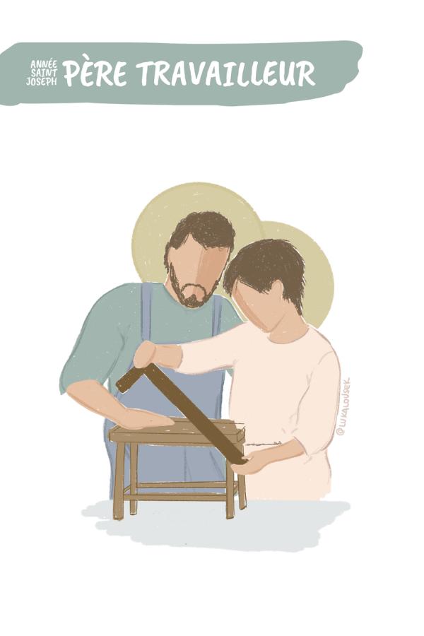 #JeVeuxÊtreCommeToi Année Saint Joseph