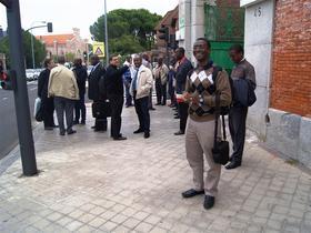La journée du 26. La messe des Ivoiriens à Notre Dame des Anges
