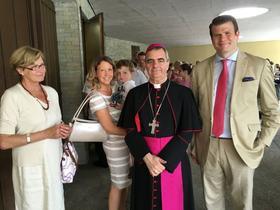 Bilderstrecke - Festmesse mit dem Nuntius in Berlin