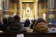 Mše za Mons. Javiera Echevarríu na pražském Smíchově
