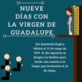 Nueve días con la Virgen de Guadalupe