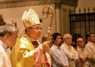 Photo Gallery: Mass in honor of St. Josemaria at the Manila Cathedral, 26 June 2015