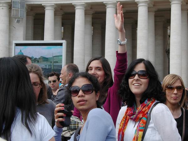 Slike s foruma UNIV v Rimu