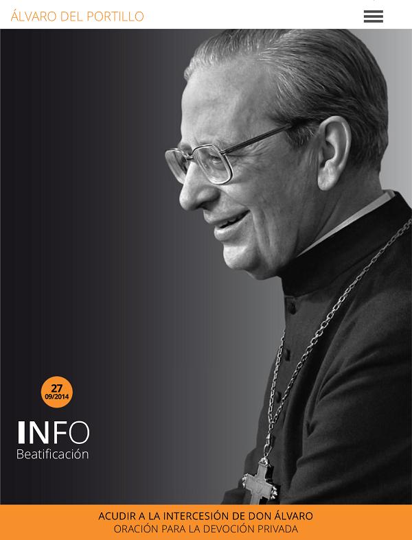 Una app para la beatificación de Álvaro del Portillo