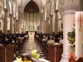 在2018年圣施礼华瞻礼日在东亚地区的感恩祭的相片集