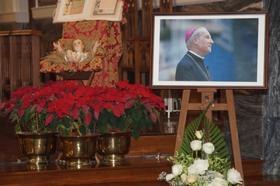 在澳門為蔡浩偉主教舉行的追思彌撒的相片集
