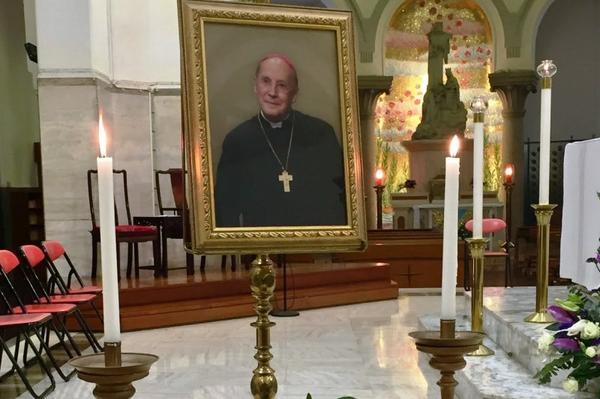 在香港和台湾为蔡浩伟主教举行的追思弥撒的相片集