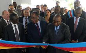 Le C.H. Monkole inaugure son nouveau bâtiment