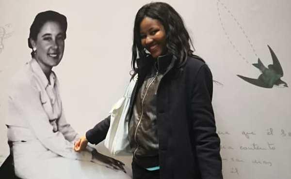 Des Ivoiriennes et des Ivoiriens à la béatification de Guadalupe