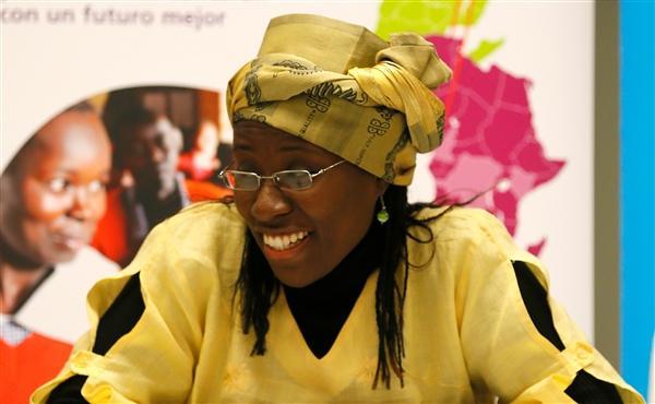 Prix Harambee Espagne pour la promotion et l'égalité de la femme. Vanessa Koutouan, Lauréate 2015