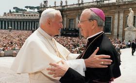 Quando os santos se encontram. São João Paulo II e o Beato Álvaro del Portillo