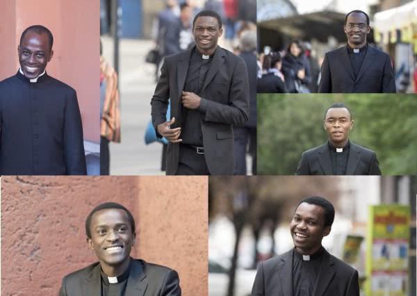 Six nouveaux prêtres de l'Opus Dei africains