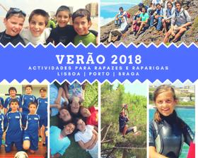 Escolha um programa de férias para os seus filhos em Lisboa, Porto e Braga