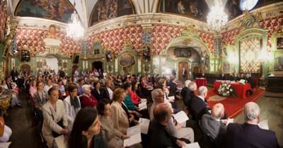 Spotkanie odbyło się w zakrystii katedry w Pampelunie. Uczestniczyło w nim 150 osób.