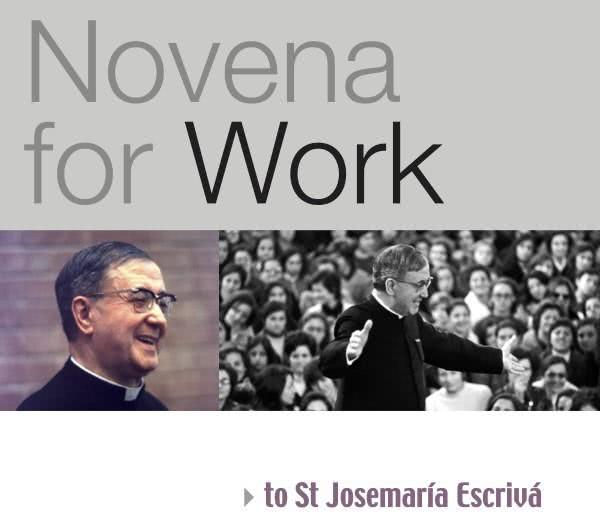 A job offer through St. Josemaria